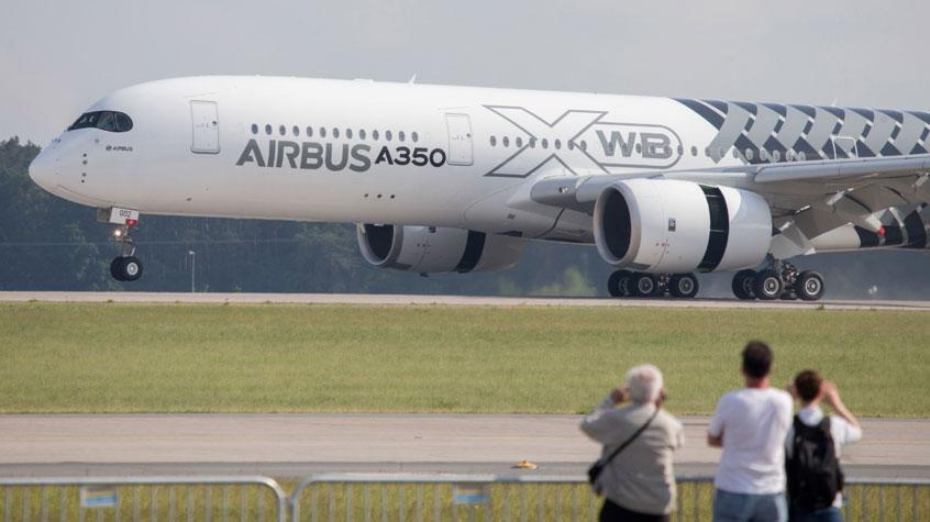 Airbus A350 auf der ILA Berlin Airshow 2016