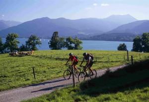 Fahrradfahren am Tegernsee