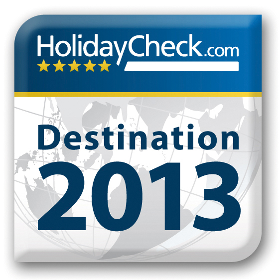 HolidayCheck Destination Award 2013