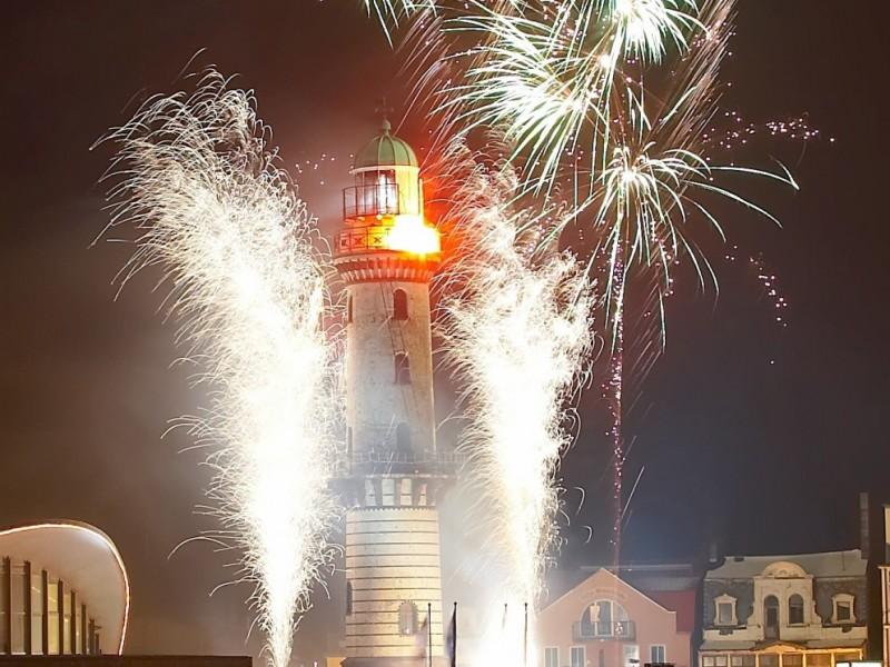 Leuchtturm in Flammenwarnemünde