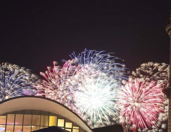 Feuerwerk Hanse Sail