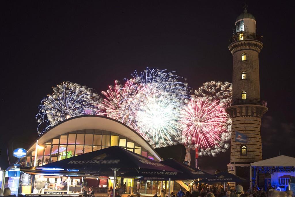 Feuerwerk Hanse Sail 2021