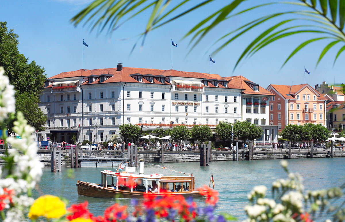 Hotel Bayerischer Hof In Lindau